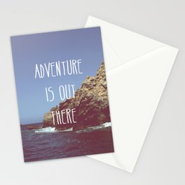 Adventure is out there Stationery Cards