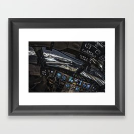 32R Clear to land Framed Art Print