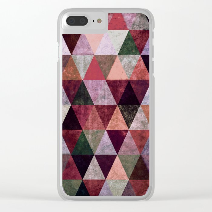 Abstract #380 Clear iPhone Case