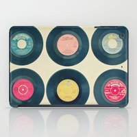 vinyl iPad Cases featuring Vinyl Collection by Cassia Beck