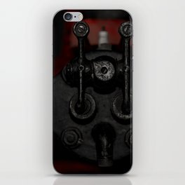 Engine Face One iPhone Skin