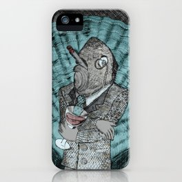 Smells like fish iPhone Case