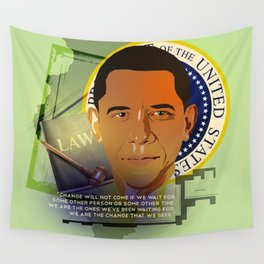 President Obama Wall Tapestry
