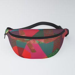 PARTY-COLORED Fanny Pack