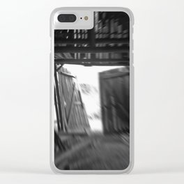 last exit Clear iPhone Case