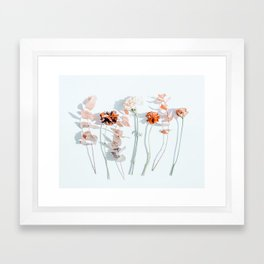 Minima #phoography #floral Framed Art Print