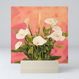 Monterey Calla Lilies Mini Art Print