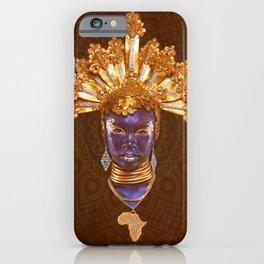 Golden Africa iPhone Case