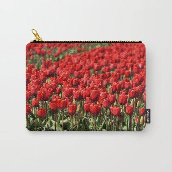 Tulips field #4 Carry-All Pouch