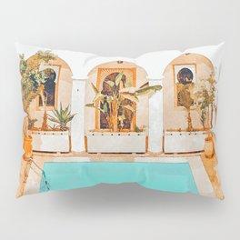 Turkish Holiday #painting #travel Pillow Sham