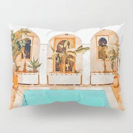 Turkish Holiday #painting #travel Pillow Sham
