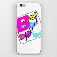 bikini iPhone & iPod Skins featuring bikini by Mike van der Hoorn