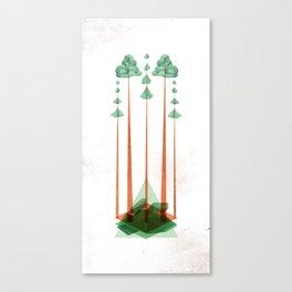 3Lives - Plant Canvas Print