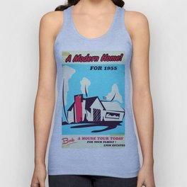 A modern home for 1955! Unisex Tank Top