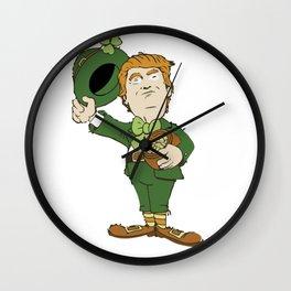 Trump Make St Patrick's Day Great Again - funny T-Shirt Wall Clock
