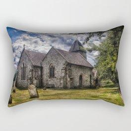 Streat Church Rectangular Pillow