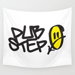 Dubstep Smile EDM Quote Wall Tapestry