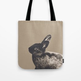 Little Rabbit on Sepia #1 #decor #art #society6 Tote Bag