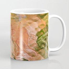 Salmon Mosaic Abstract Art Coffee Mug