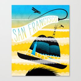 Summer in SF Canvas Print