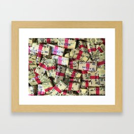 Candies 3 Framed Art Print