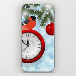 Christmas or New Year decoration iPhone Skin
