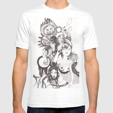 Imaginación Mens Fitted Tee SMALL White