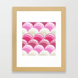 Bubbles! Framed Art Print