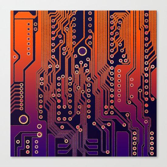 PCB / Version 4 Canvas Print
