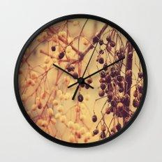 Autumn Life (II) Wall Clock