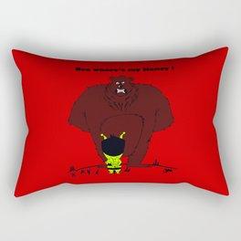Kris Alan Bear  Rectangular Pillow