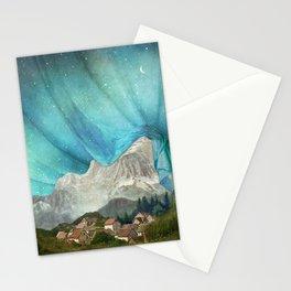 An den Bergen hing die Nacht Stationery Cards