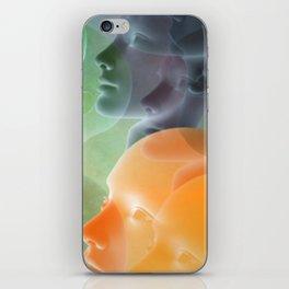 public viewing - orange iPhone Skin
