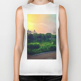 Daydream in central park Biker Tank