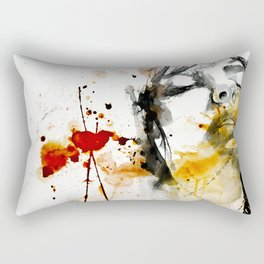 splash portraits Rectangular Pillow