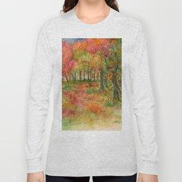 Autumn Woodlands Long Sleeve T-shirt