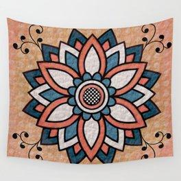 Mandala Design Wall Tapestry