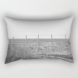 Choppy Ocean Rectangular Pillow