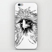 hawk iPhone & iPod Skins featuring Hawk  by Art is Vast
