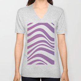 Wavy Stripes Unisex V-Neck