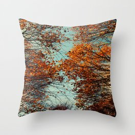 just have a look ... up up to the sky Throw Pillow