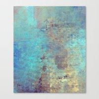 cracked Canvas Prints featuring Cracked by Jessielee