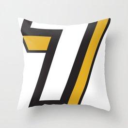 Big 7 Throw Pillow