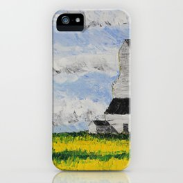 Prairie Giant iPhone Case