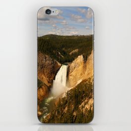 Majestic Yellowstone Upper Falls iPhone Skin