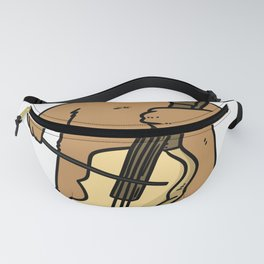 Cello Gift Musical Instrument Song Sound Fanny Pack