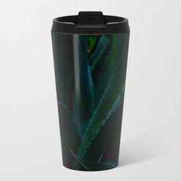 Close Up Of Aloe Vera Cactus Succulent Plants Travel Mug