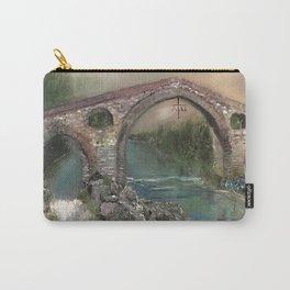 The Roman Bridge, Asturias  Carry-All Pouch