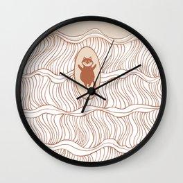 I-SEA-U 1 Wall Clock