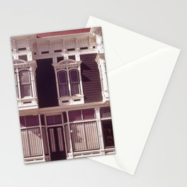 CONTROLLED DEVELOPMENT AND THOUGHTFUL RESTORATION MAKE THIS OLD FARMING TOWN AN ATTRACTIVE PLACE TO Stationery Cards